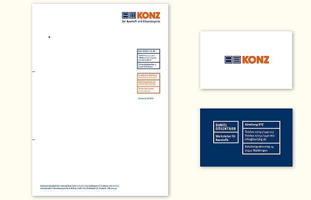 KONZ Baustoffe Logo