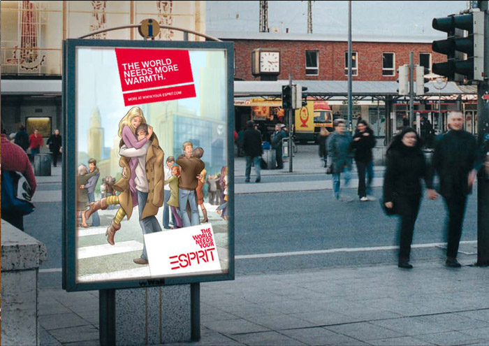 Esprit Kampagne