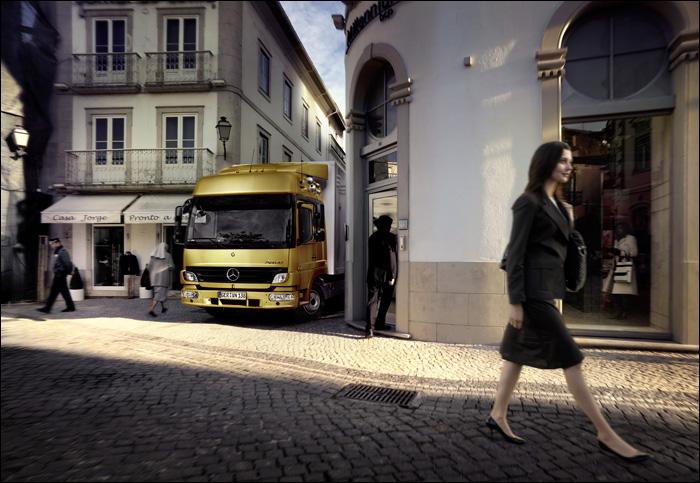 Mercedes Trucks Fotoshootings