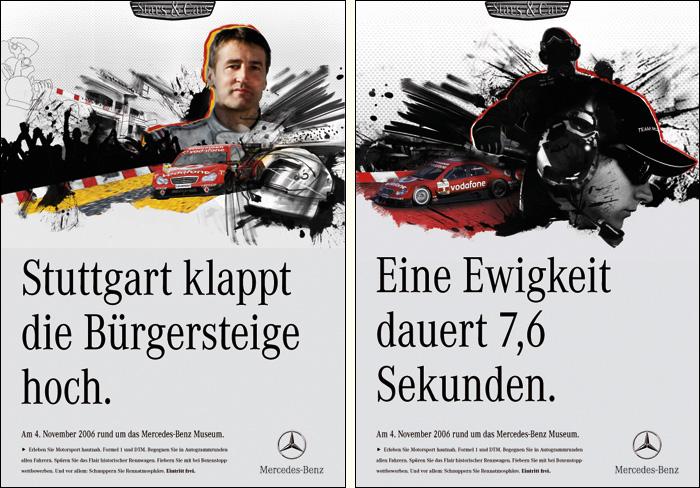 Mercedes Stars & Cars Plakate