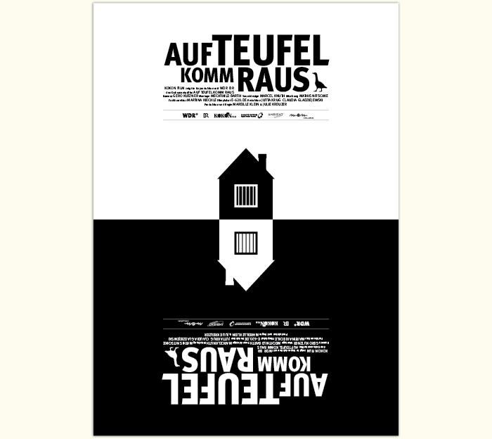 """Filmplakat """"Auf Teufel komm raus"""""""