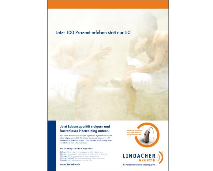 Lindacher Akustik Kampagne 2