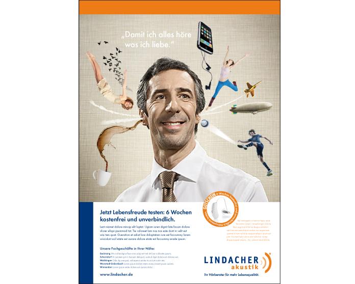 Lindacher Akustik Kampagne 1