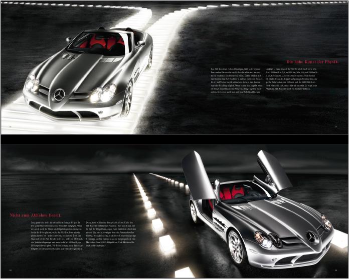 SLR McLaren Produktbuch
