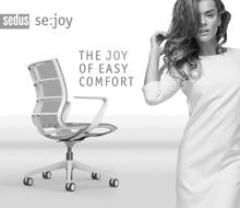 Sedus se:joy Anzeigen und Mailingaktion