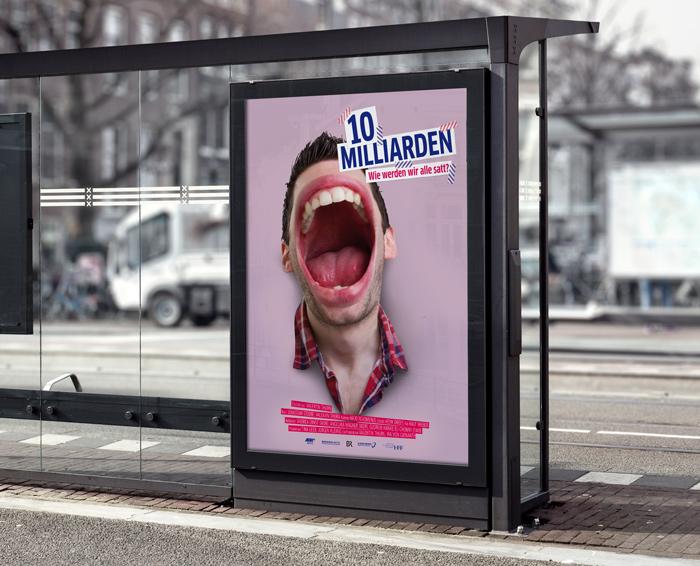 """Filmplakat """"10 Milliarden"""""""