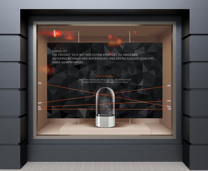 Lindacher POS-Installation für das Titan-Hörsystem