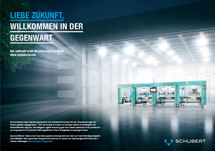 Schubert Anzeigenkampagne