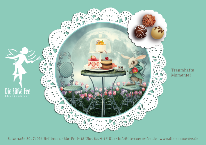 Café Süße Fee Flyer